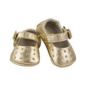 Sapatilha bebê - Dourada