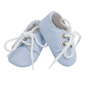 Sapatinho bebê mocassim - Azul