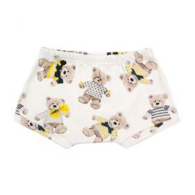Short bebê ursinho - Off white