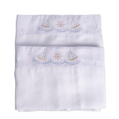 Toalha de ombro barco - Branco