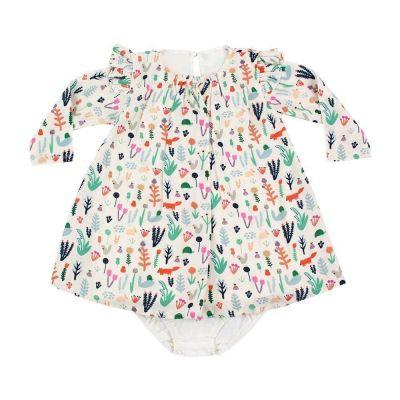 Vestido bebê - Off white