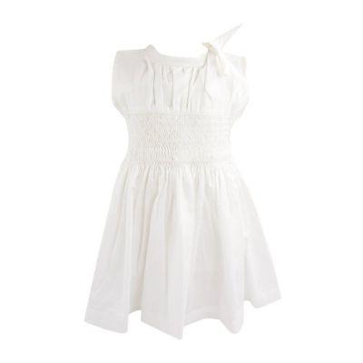 Vestido bordado - Branco