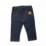 Calça bebê com ursinho - Jeans
