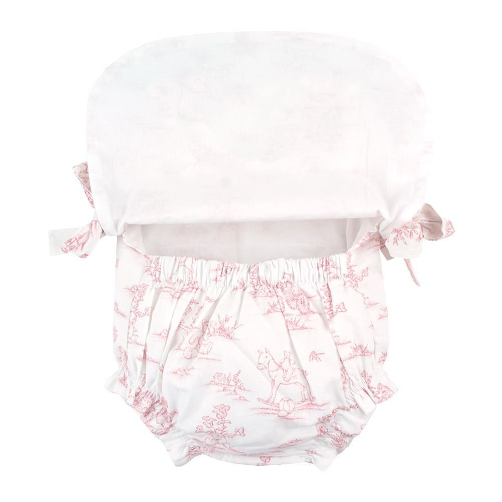 Banho de sol bebê - Branco
