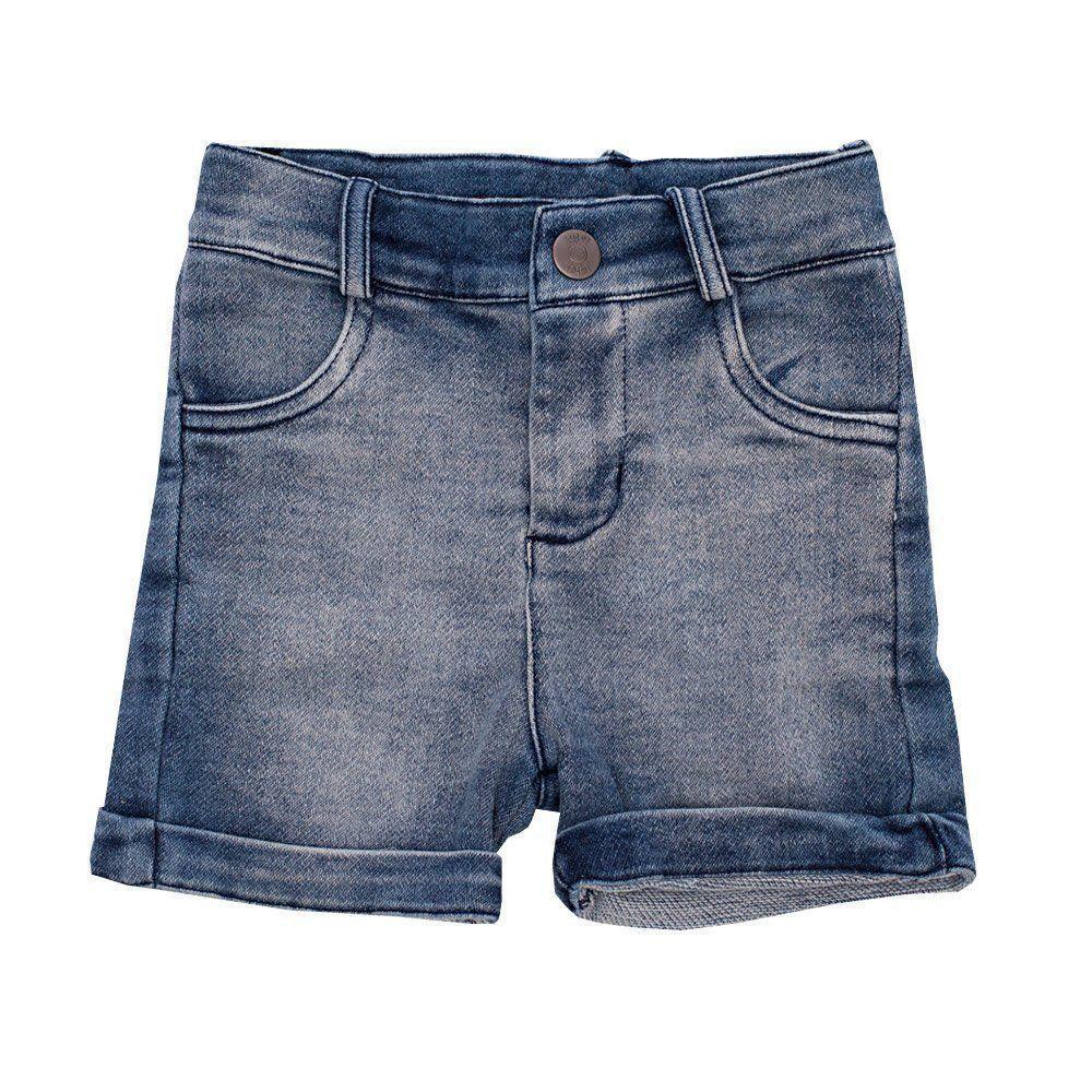 Bermuda bebê - Jeans