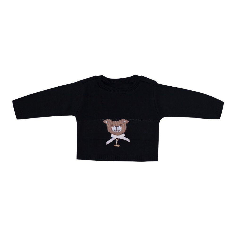 Blusa urso - Preto