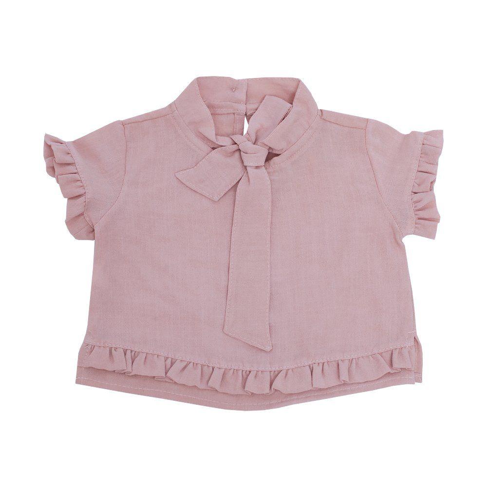 Blusa bebê - Rosa seco