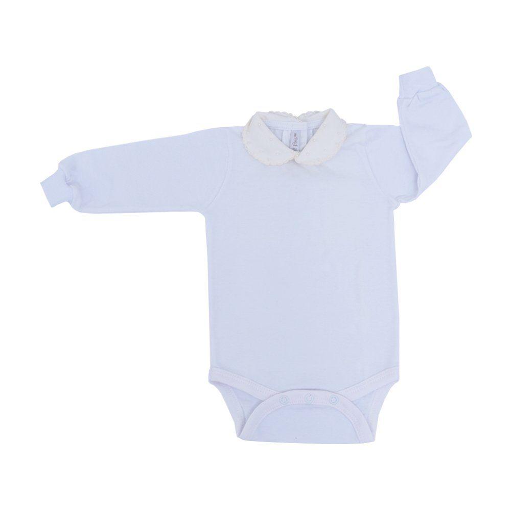 Body bebê feminino - Branco