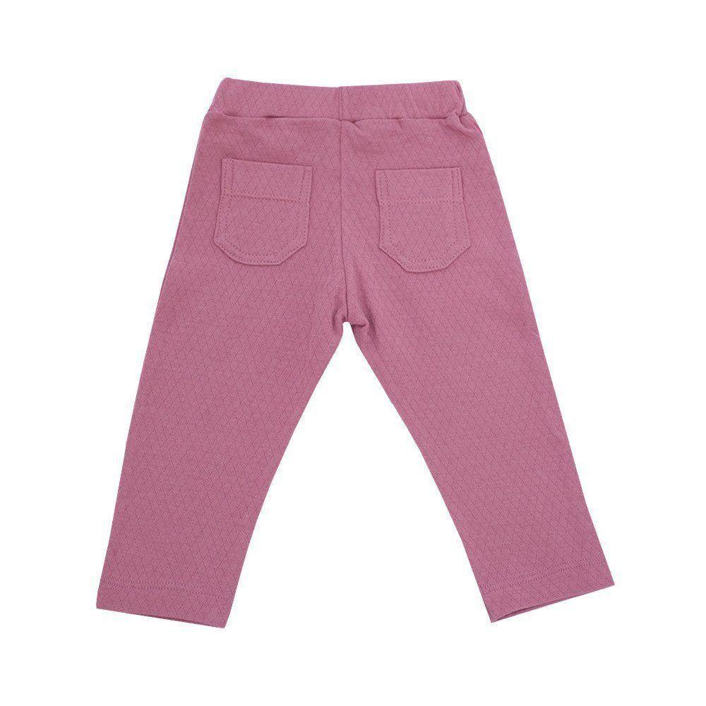 Calça bebê basic - Rosê