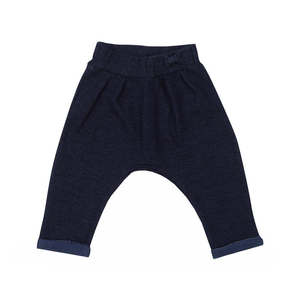Calça bebê saruel - Jeans