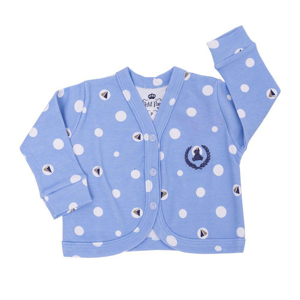 Casaco bebê - Azul