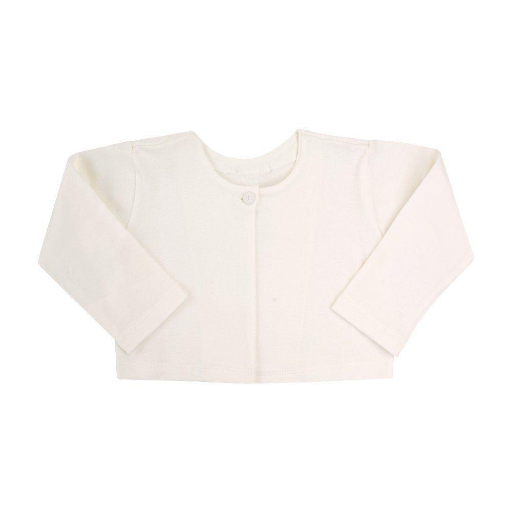 Casaco bebê básico feminino - Off white