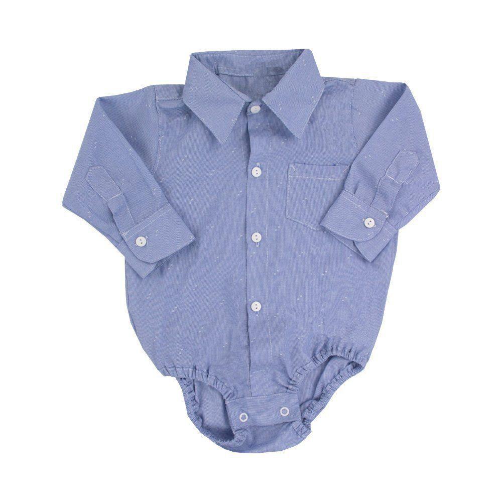 Conjunto bebê 4 peças - Azul