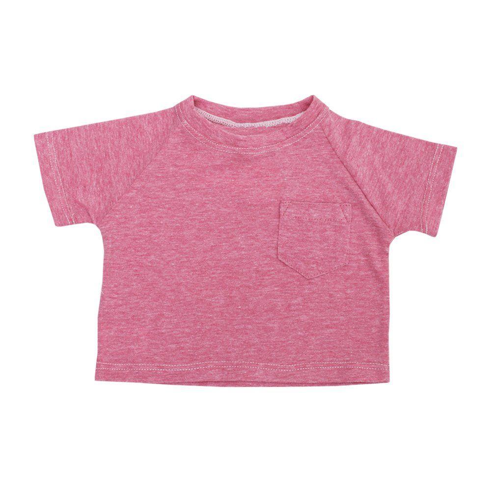 Conjunto bebê com camiseta e short - Rosa e cinza