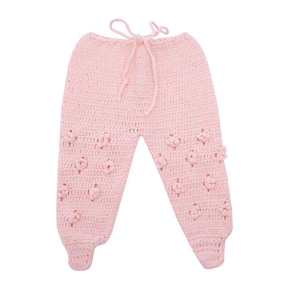 Saída de maternidade feminina vestido e calça - Rosa bebê