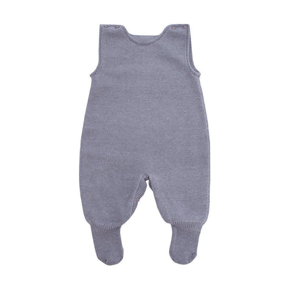 Conjunto bebê masculino - Cinza