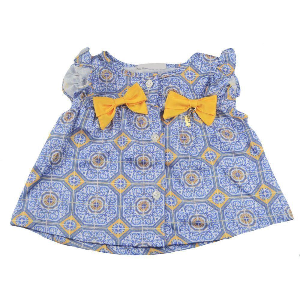 Conjunto bebê 2 peças - Azul