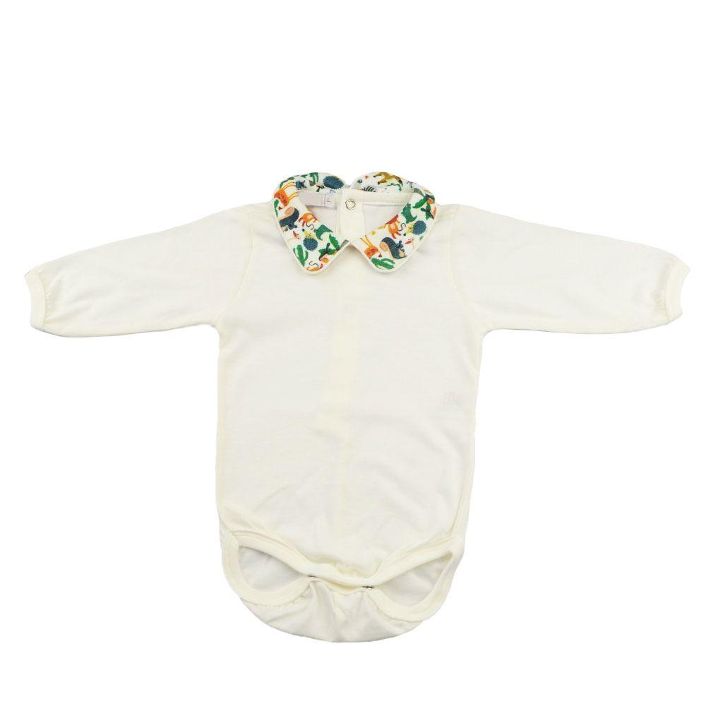 Conjunto bebê 2 peças - Marfim