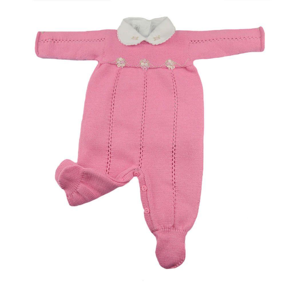 Conjunto bebê com 2 peças - Rosa
