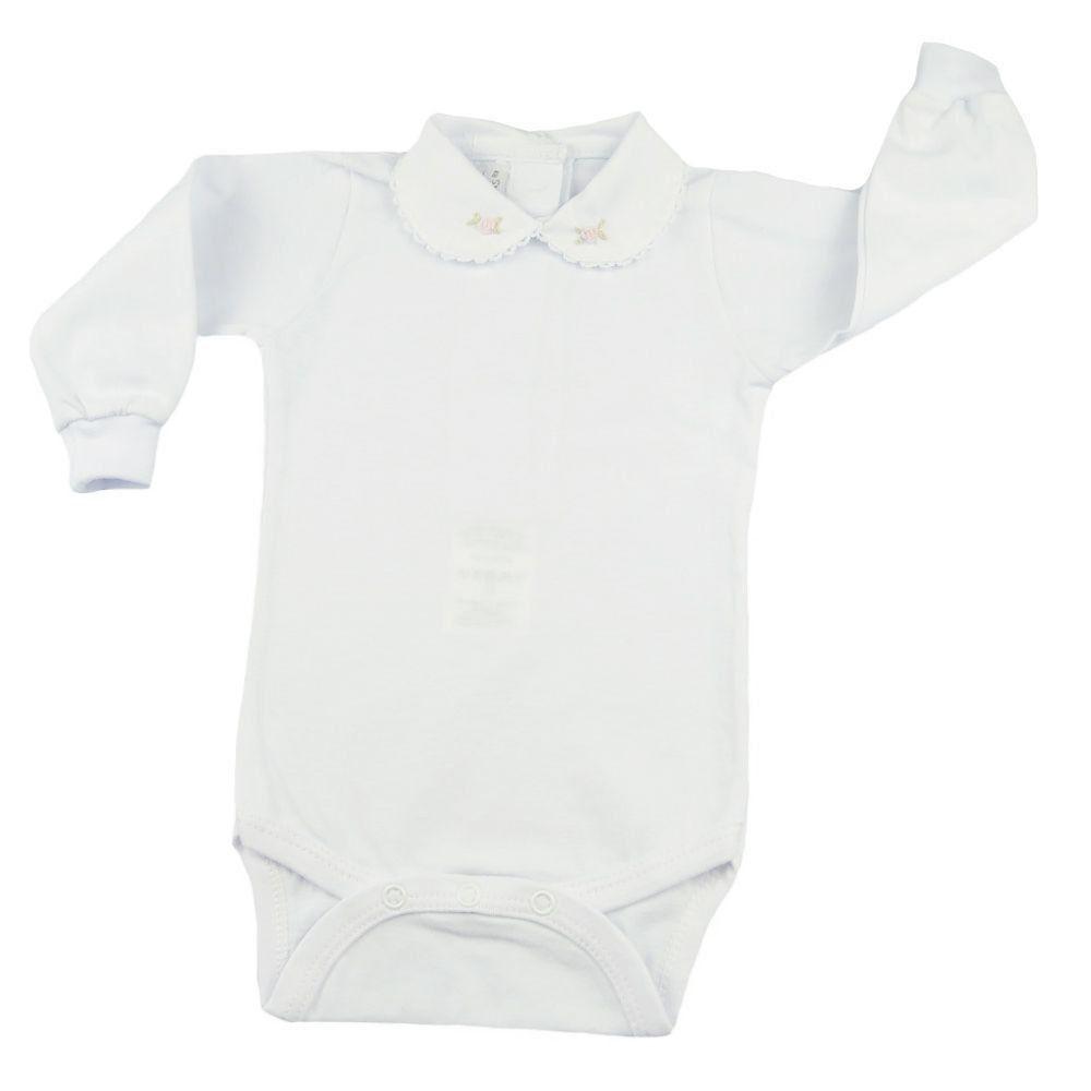 Conjunto bebê  em tricot 2 peças - Rosa