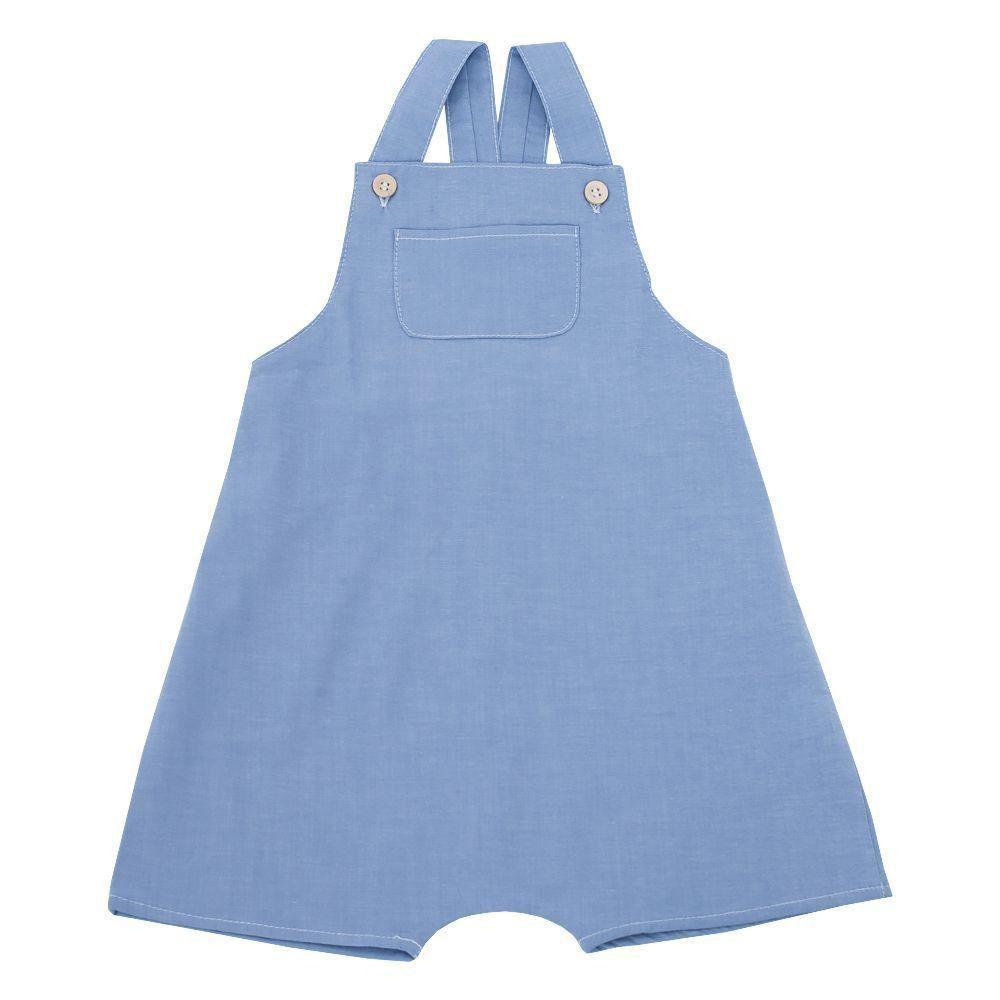 e0904c45760bf Jardineira bebê masculina - Jeans Venha conhecer nossa produtos e ...