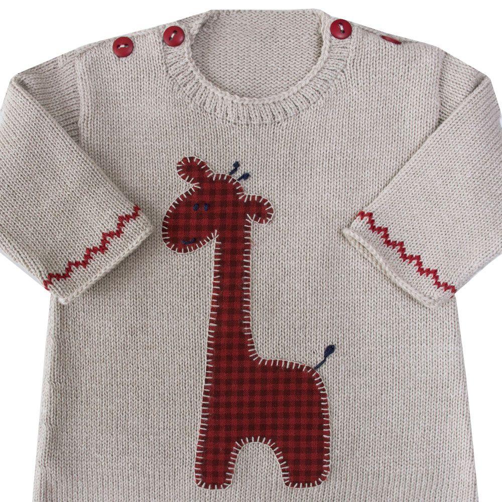 Macacão bebê girafa - Rolex