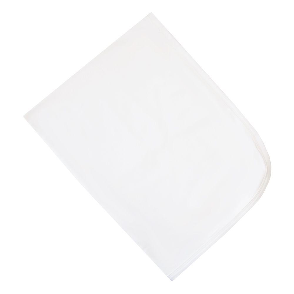 Manta bebê em suedine - Off white