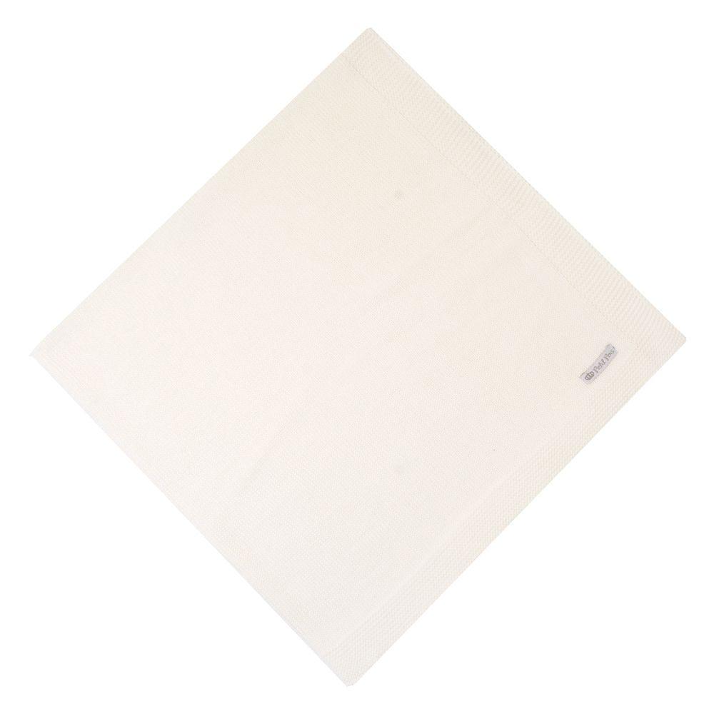 Manta lisa - Off white