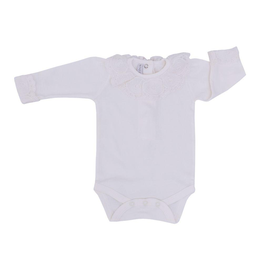 Saída de maternidade feminina 4 peças - Amarelo bebê