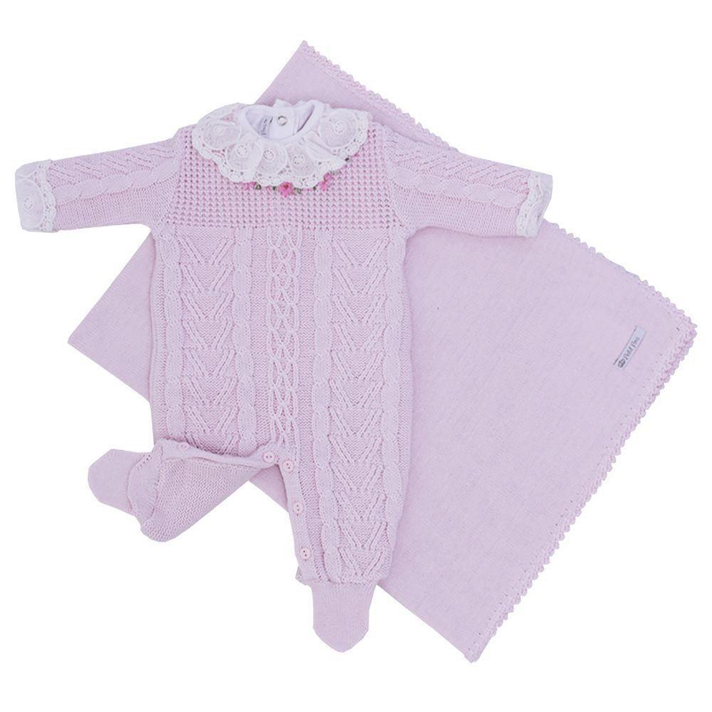 78ee130a6 Petit Pois Enfant - Saída de maternidade com macacão