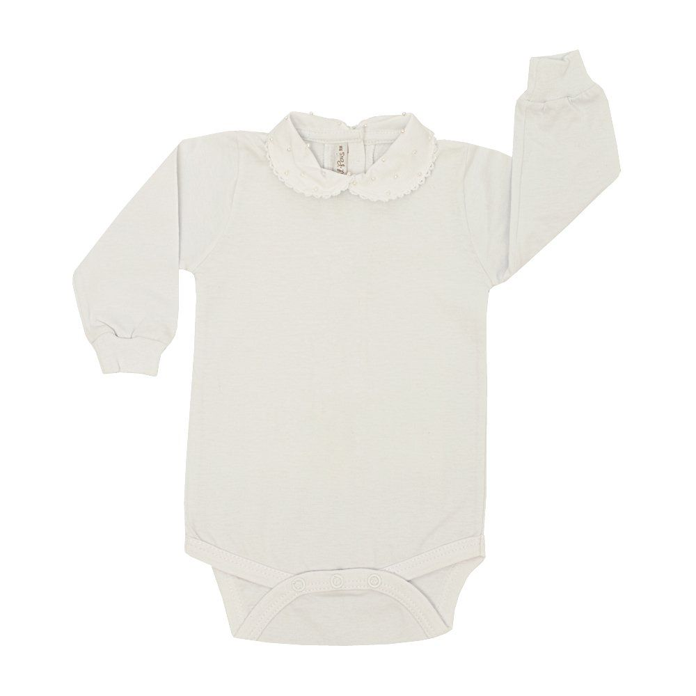 Saída de maternidade feminina 3 peças - Branco