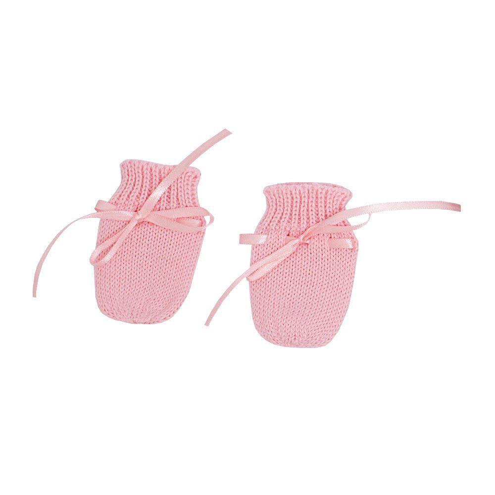 Saída de maternidade feminina poá 4 peças - Rosa/Rolex