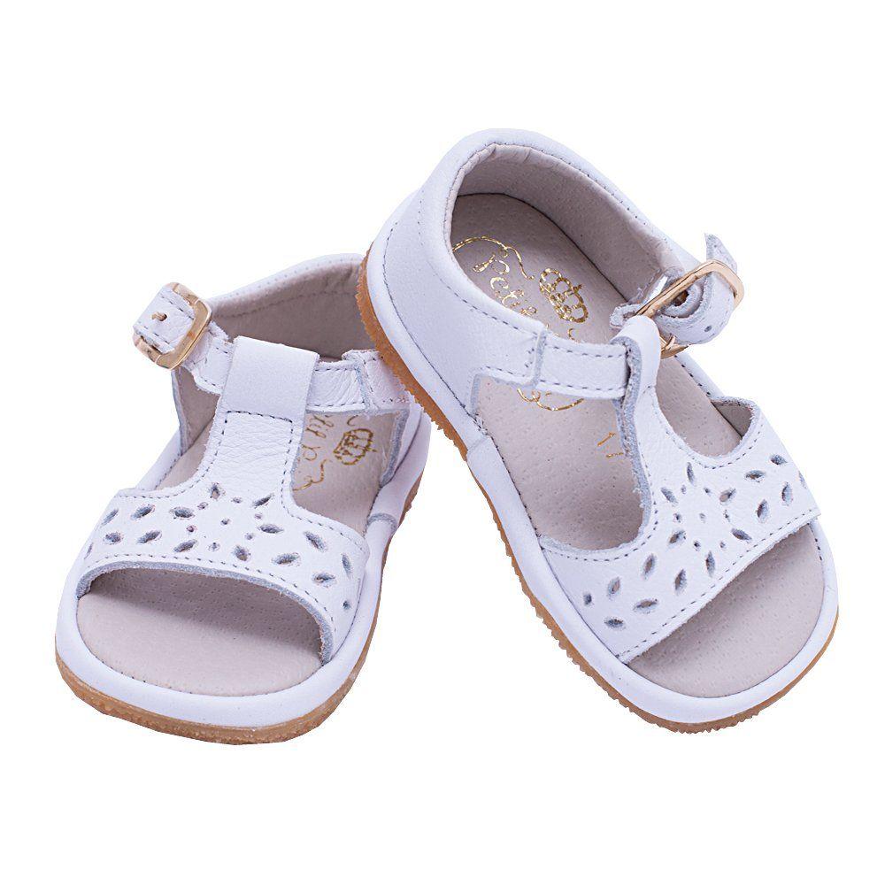 Sandália bebê feminina - Branco
