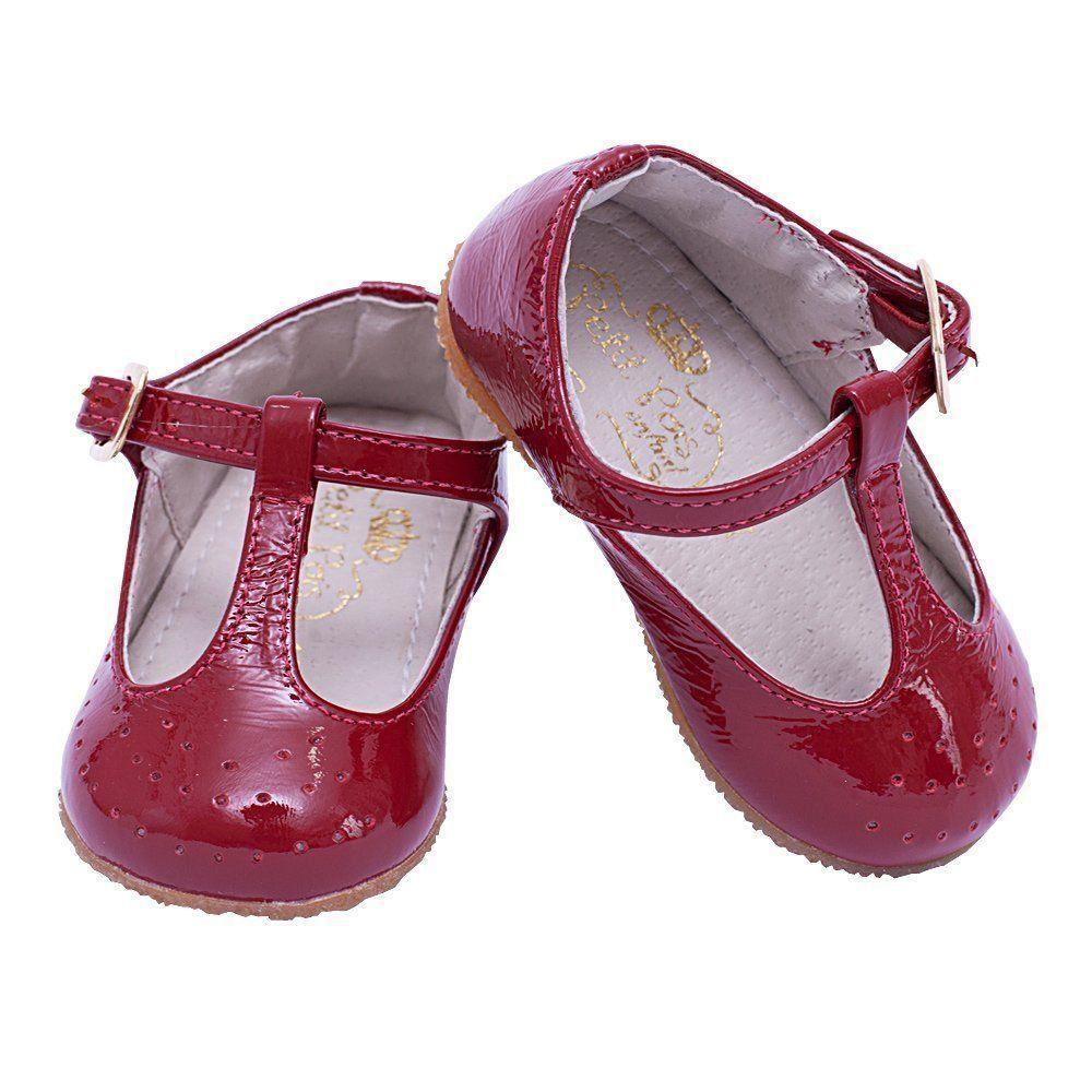 Sapatilha bebê - Vermelho