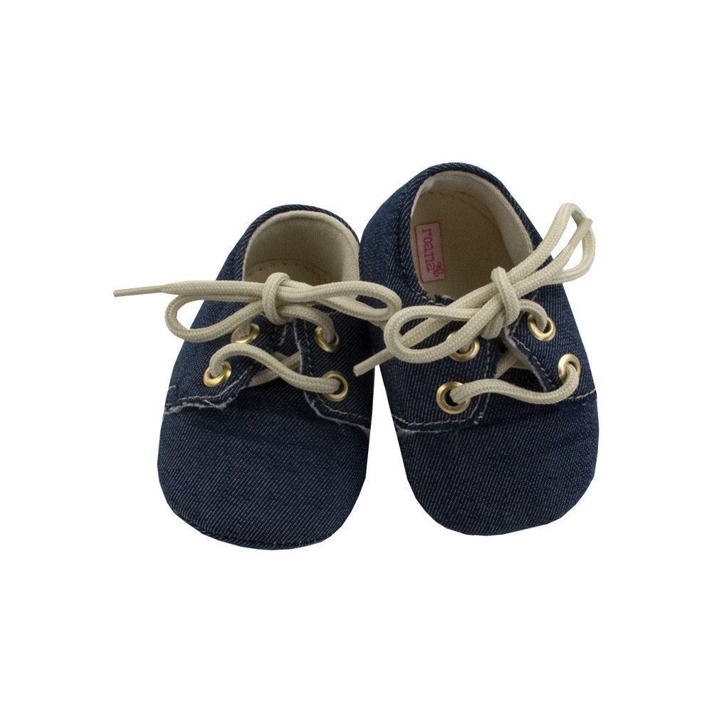 Sapatinho bebê - Jeans