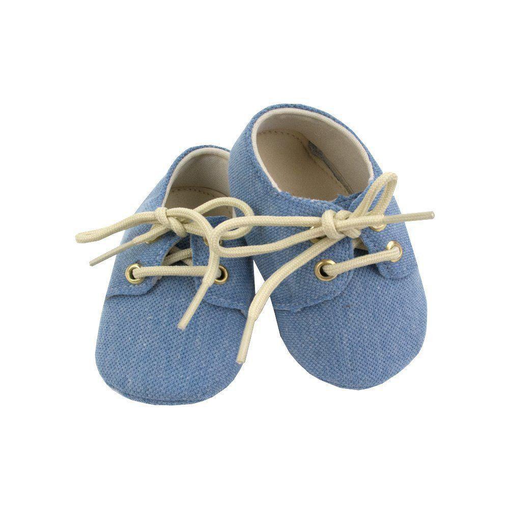 5beecac34 Sapatinho bebê mocassim - Azul bebê Venha conhecer nossa produtos e ...