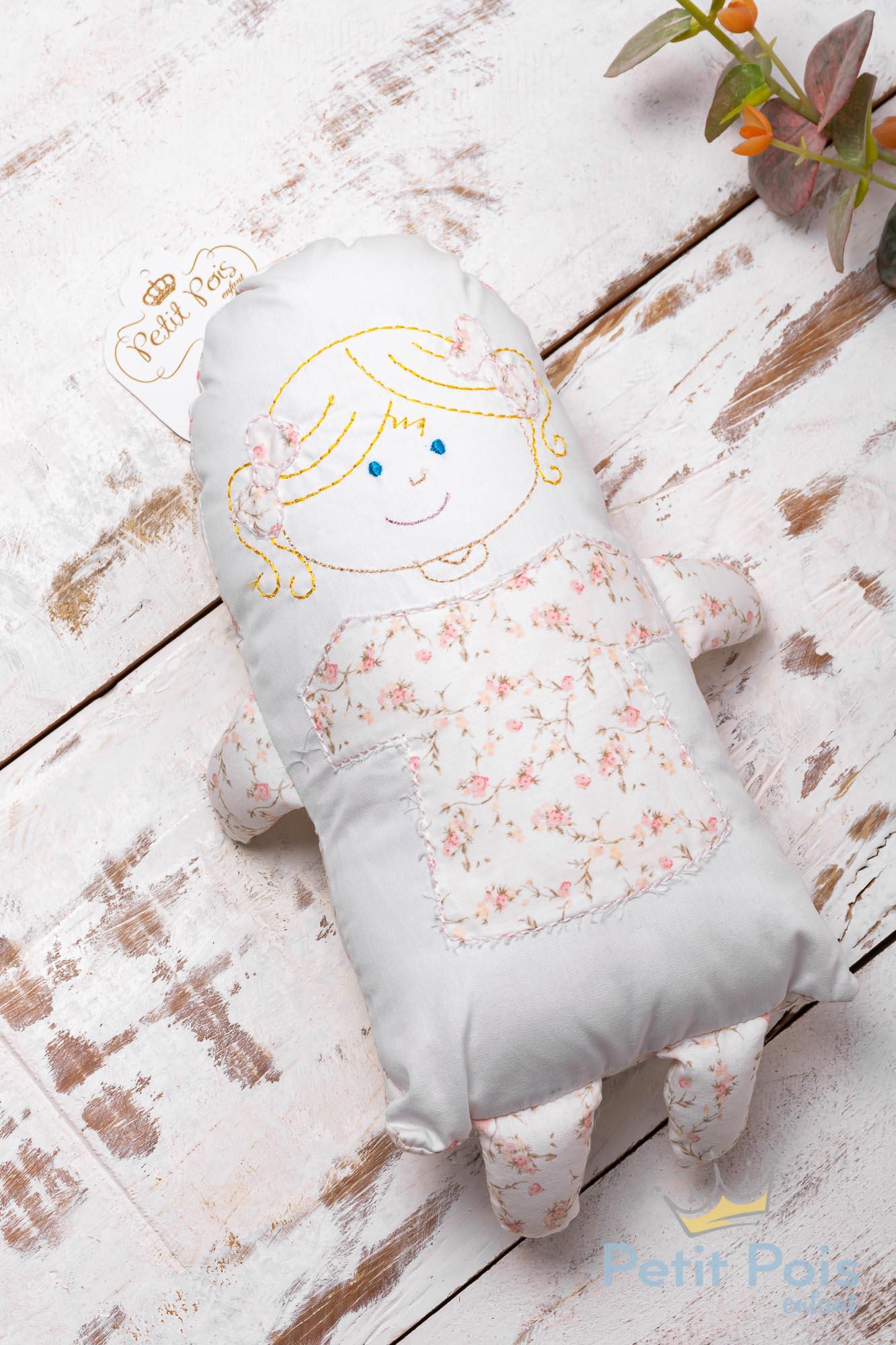 Soninho bebê floral - Branco