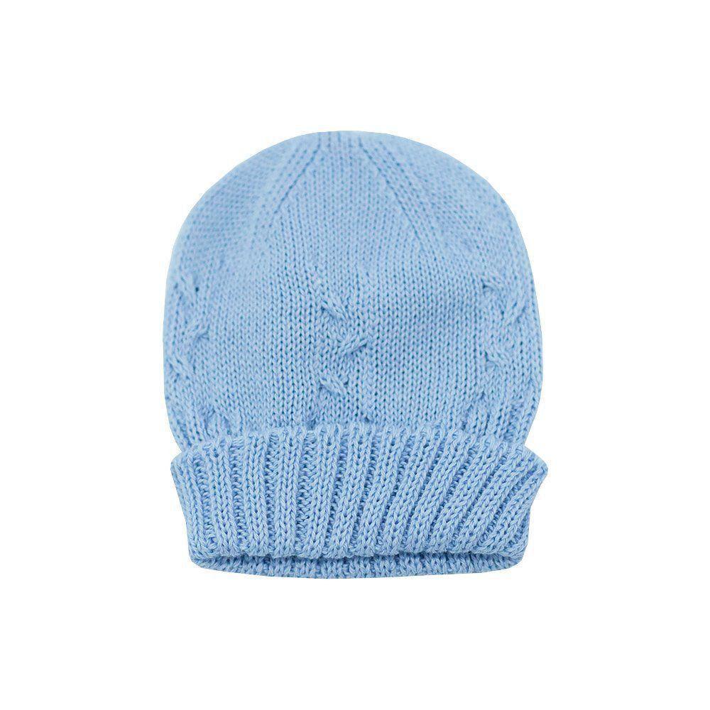 Touca bebê - Azul bebê