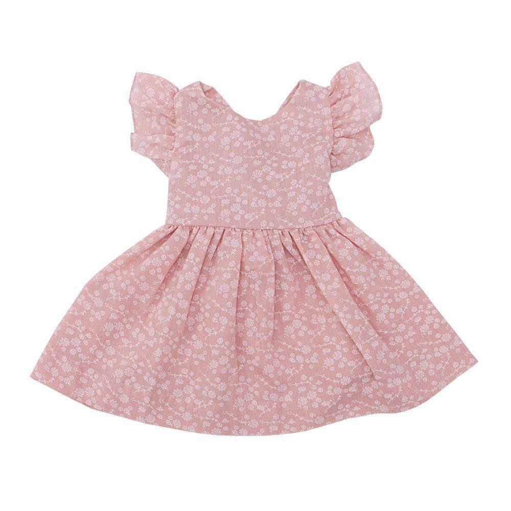 Vestido bebê - Rosê