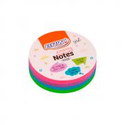 Bloco de Anotações 70x70mm Colori Smart Notes 200 folhas