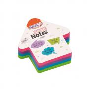 Bloco de Anotações 70x70mm Seta Colori Smart Notes 200 folhas