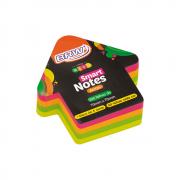 Bloco de Anotações 70x70mm Seta Neon Smart Notes 200 folhas