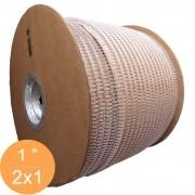 Bobina Wire-o 2x1 Branco 1 para 200 fls 4.500 anéis