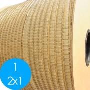 Bobina Wire-o 2x1 Prata 1 para 200 fls 4.500 anéis