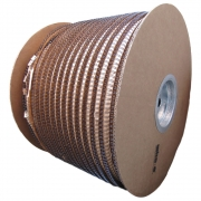 Bobina Wire-o 2x1 Preto 1 para 200 fls 4.500 anéis