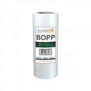 Bopp Brilho para Laminação A4 Ofício 23cmx200m Marpax 01 un