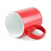 Caneca Mágica para sublimação de Cerâmica Vermelha 01un