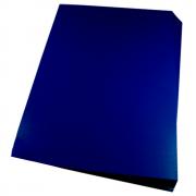 Capa para Encadernação A4 Azul Marinho Couro PP 0,30 100un