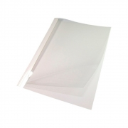 Capa Térmica Crystal Paper Branco A4 09mm 61 à 75 fls 05un