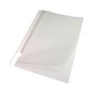 Capa Térmica Crystal Paper Branco A4 15mm 121 à 150 fls 05un
